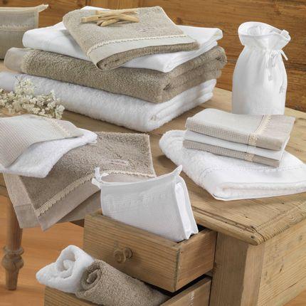 Bath towel - COSMETIC BAG DENTELLE DE LOUISE - LA MAISON DES ABEILLES