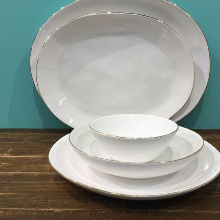 Ceramic - WAVE GOLD RING  - M O S - PORTUGAL