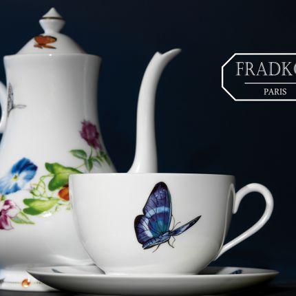 """Assiettes de reception - """"Envol Capricieux"""" - FRADKOF PARIS"""