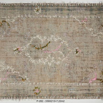Contemporain - vintage rug - ETNIK HALICILIK