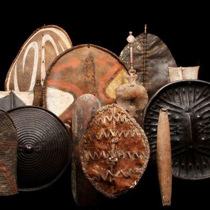Sculpture - African Shields - KANEM