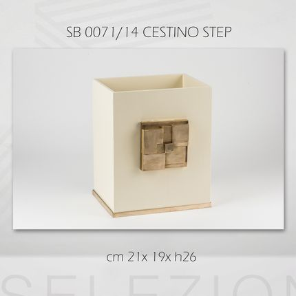 Waste baskets - STEP COLLECTION - SELEZIONI DOMUS FLORENCE ITALY