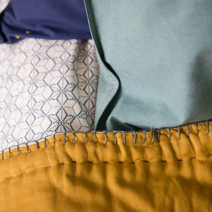 Couettes, oreillers - Cotton Filled Reversible Quilts - CAMOMILE LONDON