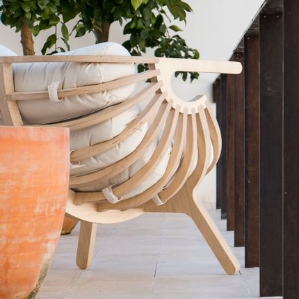 Lounge chairs - Shell - BRANCA