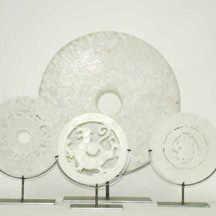 Objets de décoration - bi disc - ORNAMENTA