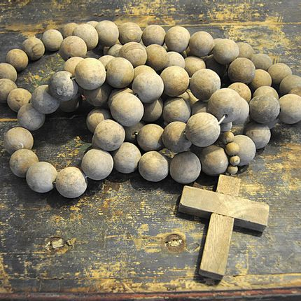 Objets de décoration - Prayer beads with Cross - SUGARBOO DESIGNS