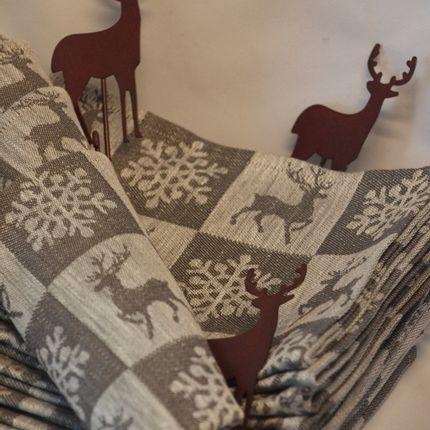 Torchons - Dish towel reindeer - VALERIA PRODUKTEN