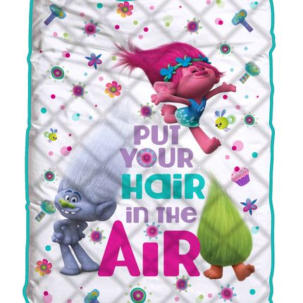 Throw blankets - Trolls quilt - T&F