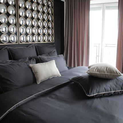 Bed linens - Percale Duvet Cover or Stone Wash - SIRETEX SENSEI LA MAISON DU COTON