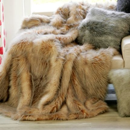 Throw blankets - Mongoose - JASON FUR COLLECTION