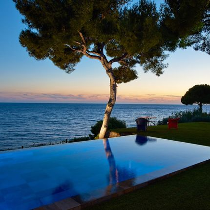 Pools - Infinity pool with sea views - PISCINES CARRE BLEU