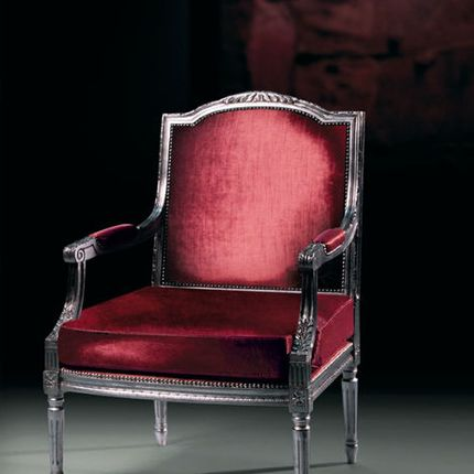 Fauteuils - Italian armchair reproduction of Louis16 - EMERALD COLLECTIONS