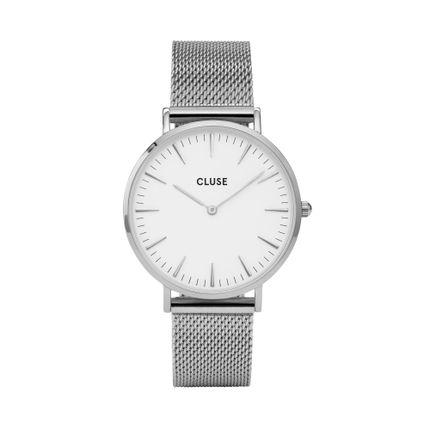 Bijoux - CLUSE La Bohème Mesh Silver/White - CLUSE