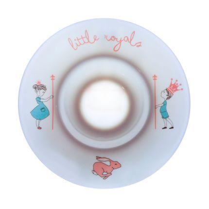 Meals - Porcelain plate - Calisson Little Royals