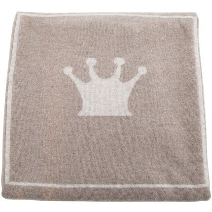 Children's fashion - Cashmere blanket - Calisson Little Royals