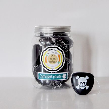 Toys - Pirate Eye Patch Jar - CHACHA