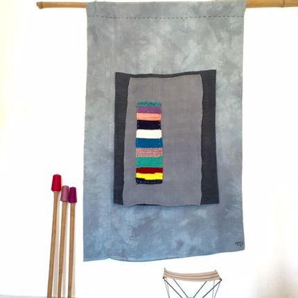 Wall decoration - Kakemono Tie&die - MP CREATIONS