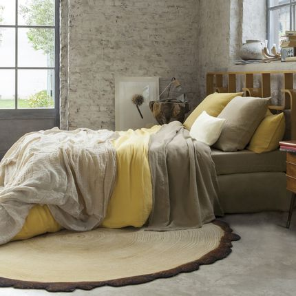 Bed linens - Linge de lit - COULEUR CHANVRE