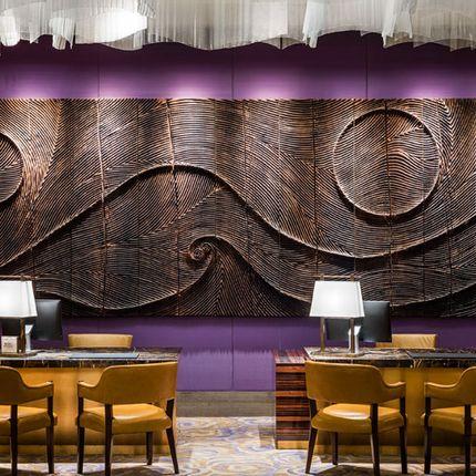 Woodwork - Hotel St Regis Macau - ETIENNE MOYAT