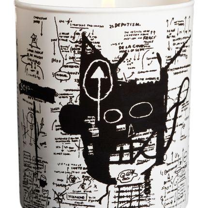 Gift - Jean-Michel BASQUIAT perfumed candle - LIGNE BLANCHE PARIS