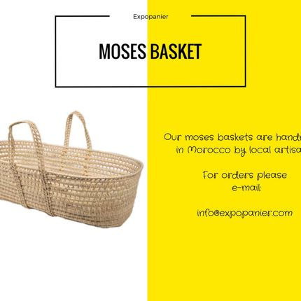 Baby furniture - Palm Moses Basket  - EXPO PANIER