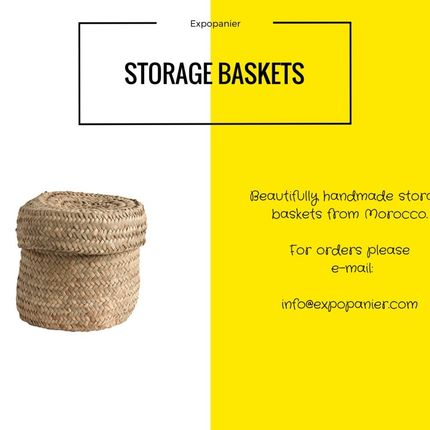 Storage box - storage basket  - EXPO PANIER