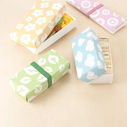 Canning - Origami Lunch boxes and plates - SAKURA BENTO