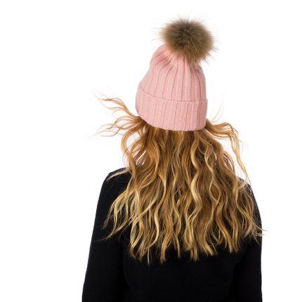Foulards / écharpes - Cashmere Plain Knit Bobble Hat - SOMERVILLE