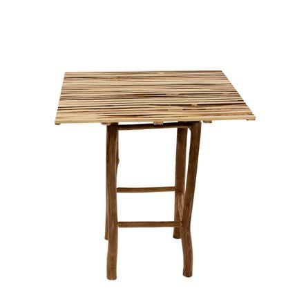 Tables de jardin - Esprit intérieur/extérieur - Table - DEPARTEMENT DE LA REUNION - ECOBOIS GOYAVIER