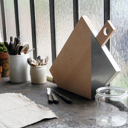 Ustensiles de cuisine - Planche à découper Zig Zag - UN ESPRIT EN PLUS