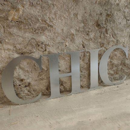 Décoration murale - Lettres métal  - UN ESPRIT EN PLUS