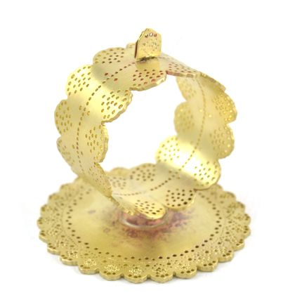Decorative objects - Doily Standing Napkin Ring Place Card Holder - ARIANA OST