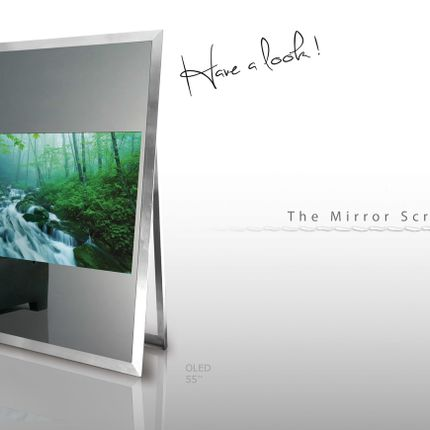 Design objects - MIRROR TELEVISION ELEGANCE  - OX- HOME