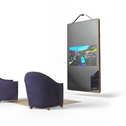 Wall ensembles - MIRROR TELEVISION LISERE - OX- HOME