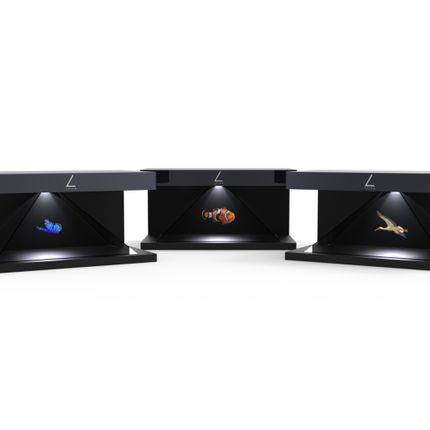 Console tables - HOLOGRAM PRISM 180° - OX- HOME