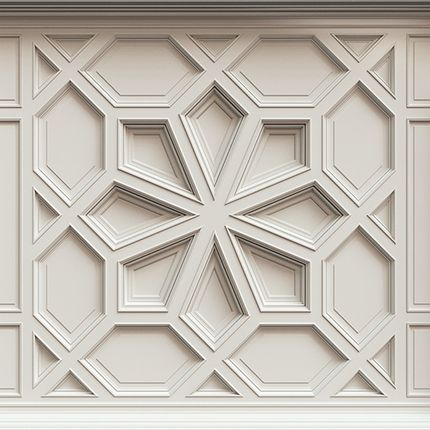 Moulures - La conception de plafond classique pl-c 4 - DECORIGHT COLLECTION