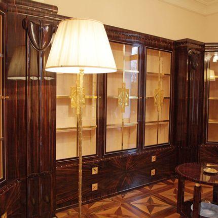 Woodwork - Art Deco Boiserie - Wood Paneling - ATELIERS JEAN-BAPTISTE CHAPUIS