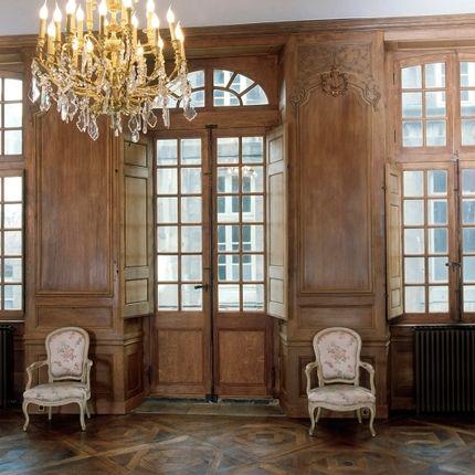 Woodwork - Art Boiserie - Classic Wood Panelling - ATELIERS JEAN-BAPTISTE CHAPUIS