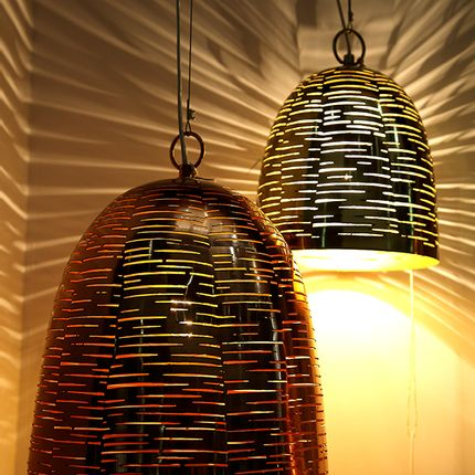 Hanging lights - LAMPS & LIGHTING - INDIA - MAGIC OF GIFTED HANDS