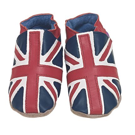 Slippers / shoes - Union Jack navy - STARCHILD