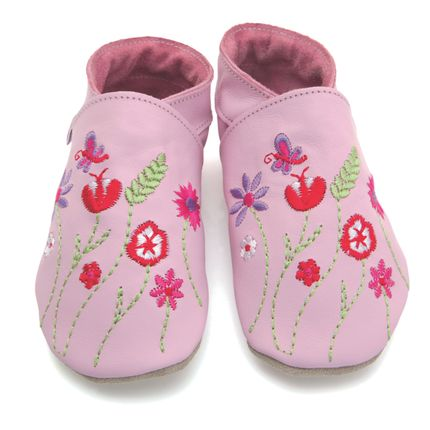 Slippers / shoes - Garden baby pink - STARCHILD