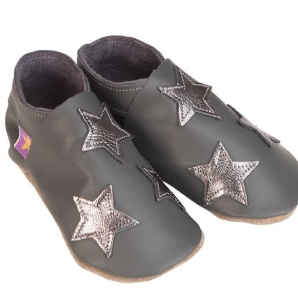 Chaussons / chaussures - Stars grey metal - STARCHILD