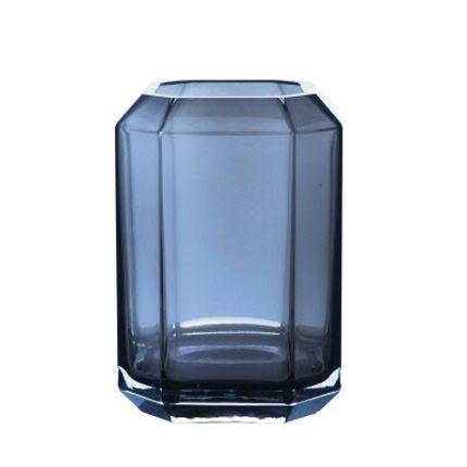 Vases - Jewel Vase Blue - LOUISE ROE COPENHAGEN