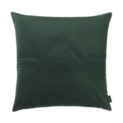 Coussins - Diamond Velvet/Kvadrat Remix Jade Green Cushion - LOUISE ROE COPENHAGEN