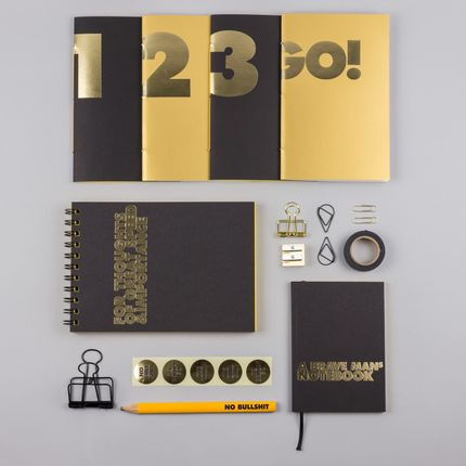 Stationery store - Golden Years Stationery Collection - PAPETTE