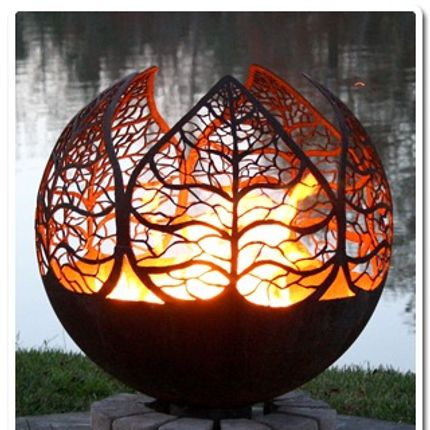 Sculpture - Autumn Sunset - BRASEROS DESIGN