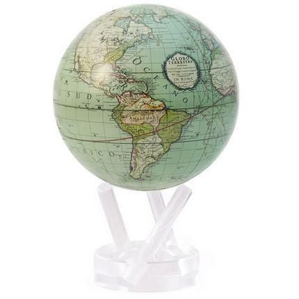 Gift - Globe MOVA cassini terrestrial en vert - MOVA EUROPE