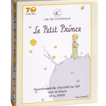 Chocolate - Casket Limited edition 70 years - Delicious 12 filled matched - The Little  Prince - VIE DE CHÂTEAUX