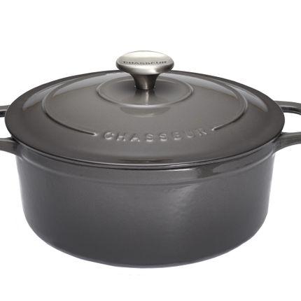 Saucepans  - Cocottes rondes et ovales en fonte émaillée - INVICTA MARQUE CHASSEUR