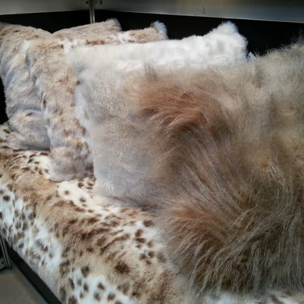 Cushions - JASON FUR CUSHIONS - JASON FUR COLLECTION